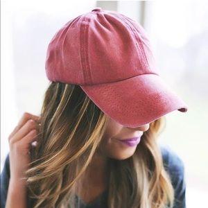 Baseball women's hat